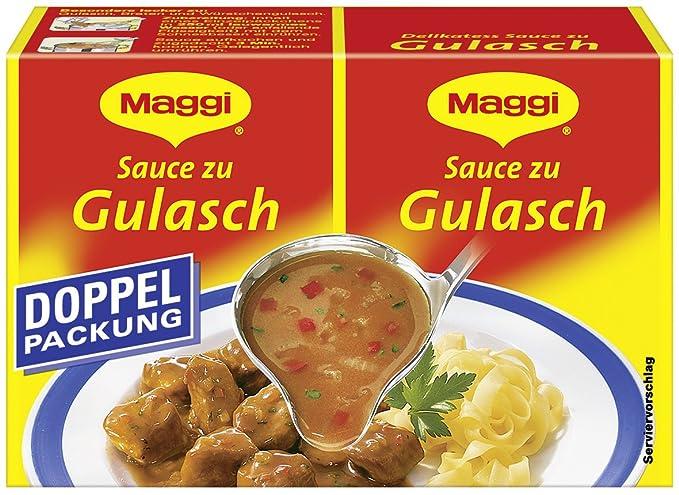 Maggi delikatess doble Pack salsas gulasch, 18 pack (18 x 500 ml de cartón