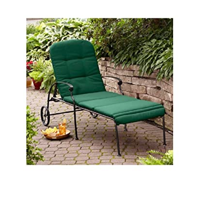 Better Homes & Gardens Clayton Court Chaise Lounge with Wheels, Green - Amazon.com: Better Homes & Gardens Clayton Court Chaise Lounge With