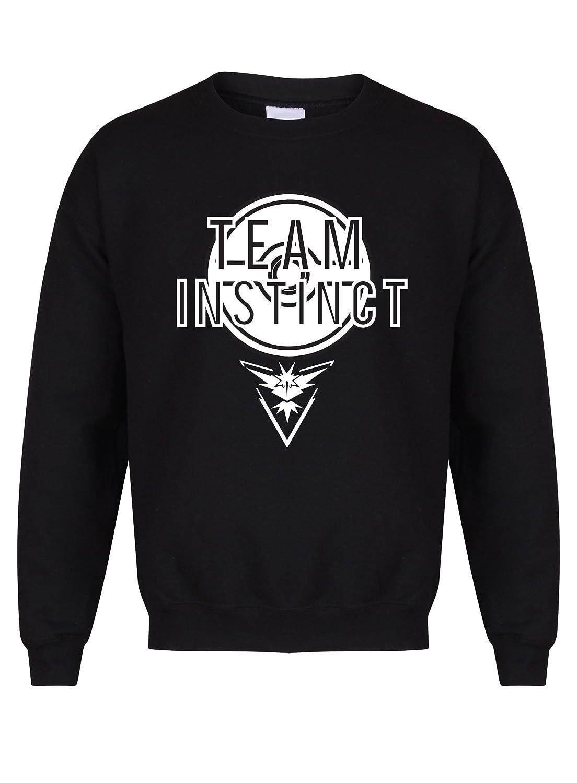 Team Instinct - Black - Unisex Fit Sweater - Fun Slogan Jumper