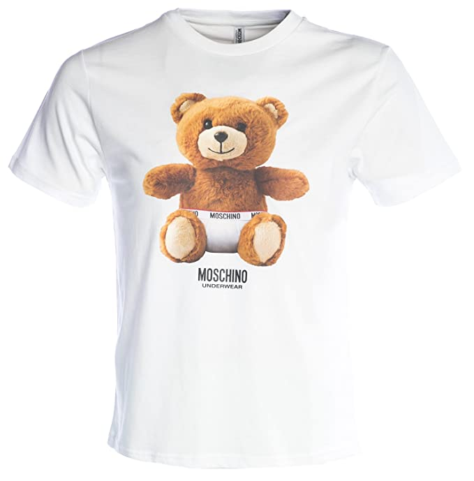 ab22a9d7fc MOSCHINO T Shirt Teddy Bear in White: Amazon.ca: Clothing & Accessories