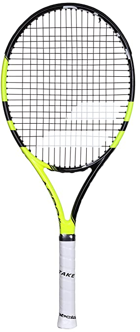 Babolat Aero Junior 26 Raquetas de Tenis, Unisex niños, Negro/Amarillo, 0: Amazon.es: Deportes y aire libre