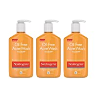 Neutrogena Oil-Free Acne Fighting Facial Cleanser with Salicylic Acid Acne Treatment...
