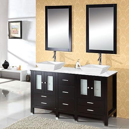 Bon Virtu USA MD 4305 S ES Bradford 60 Inch Bathroom Vanity With