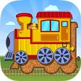 Trains, avions et véhicules marins - puzzles pour enfants