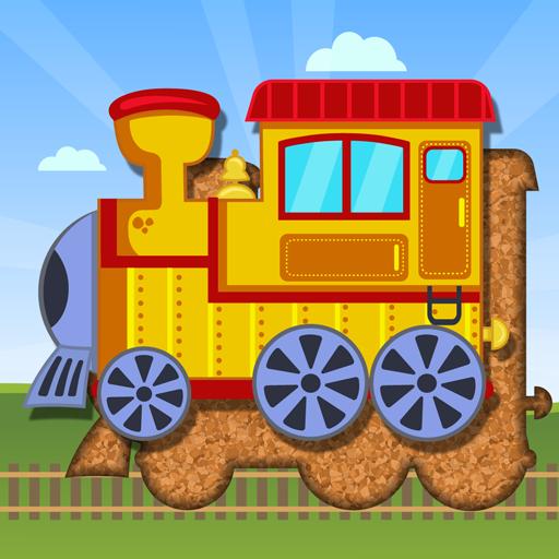 Trenes y transportes para niños - Puzle para bebés: Amazon