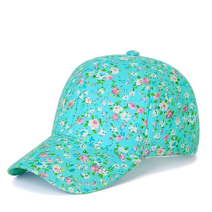 8bdee2ee155c7 Fashion Summer Baseball caps Women Casual Cap Ladies Lovely Summer hat  Casquette Bone Femme Gorras Blue