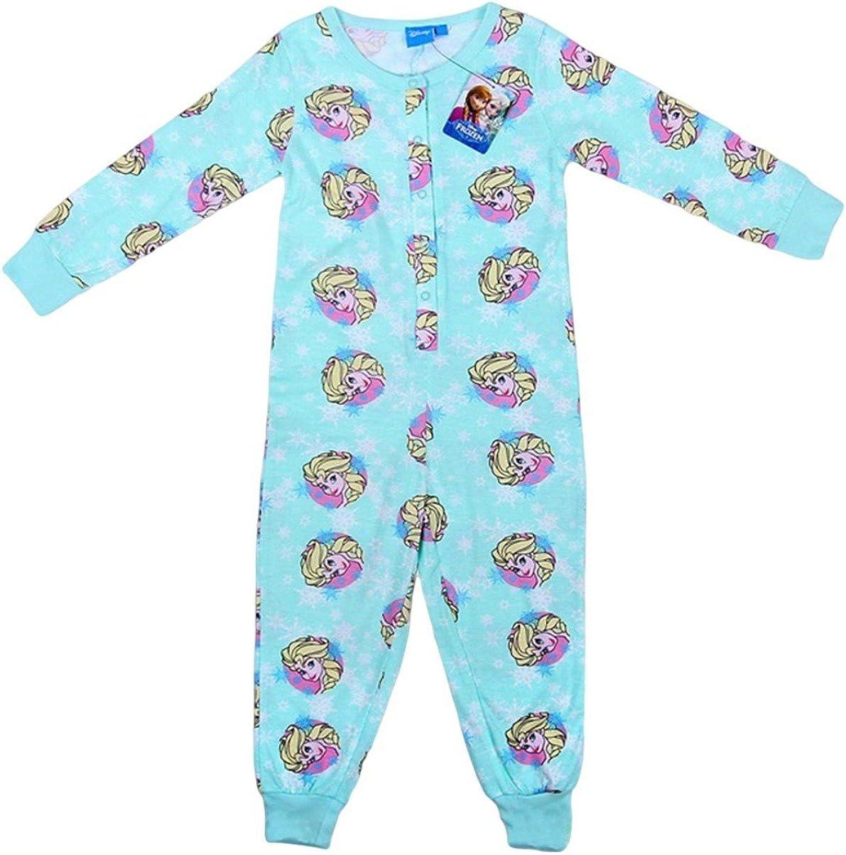 New Primark Niñas Frozen Disney Elsa de algodón pijama Edad 3 ...