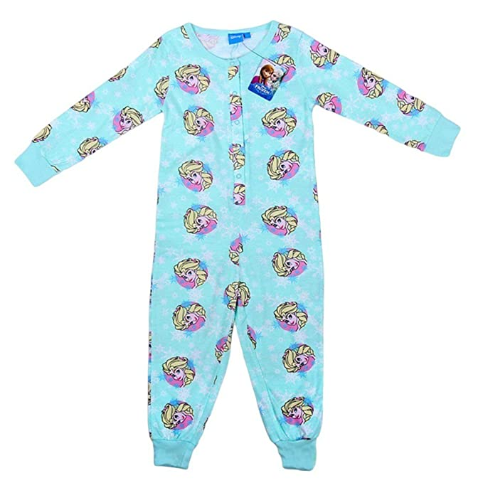 New Primark Niñas Frozen Disney Elsa de algodón pijama Edad 3 – 4yrs Sleepsuit todo en