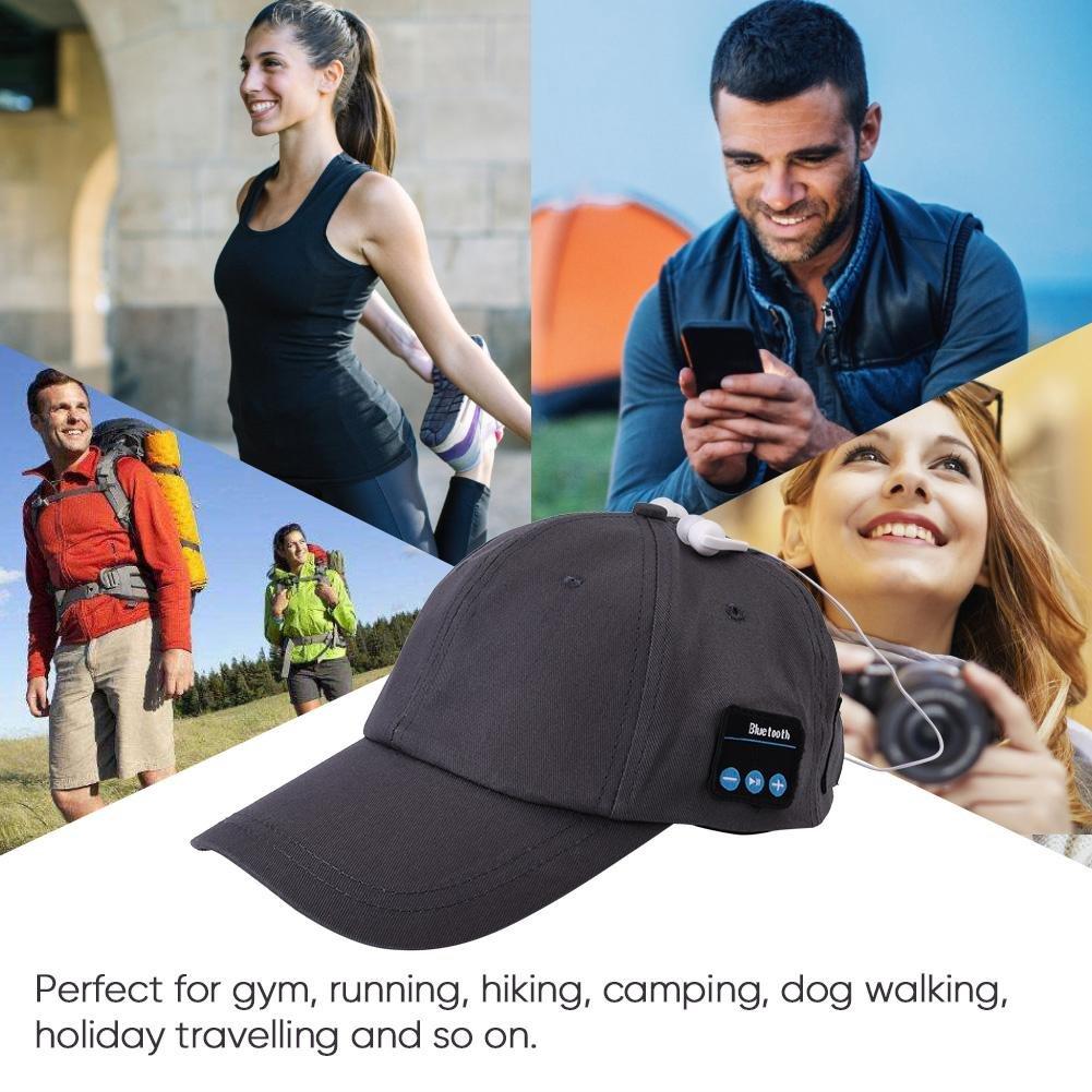 Cappello Bluetooth Wireless Bluetooth cuffie musica cappello per Outdoor Sport Corsa fine berretto da baseball