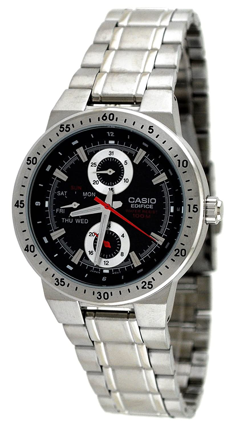 Amazon.com: Casio #EF314D-1AV Mens Edifice Stainless Steel Multi Function Sports Watch: Watches