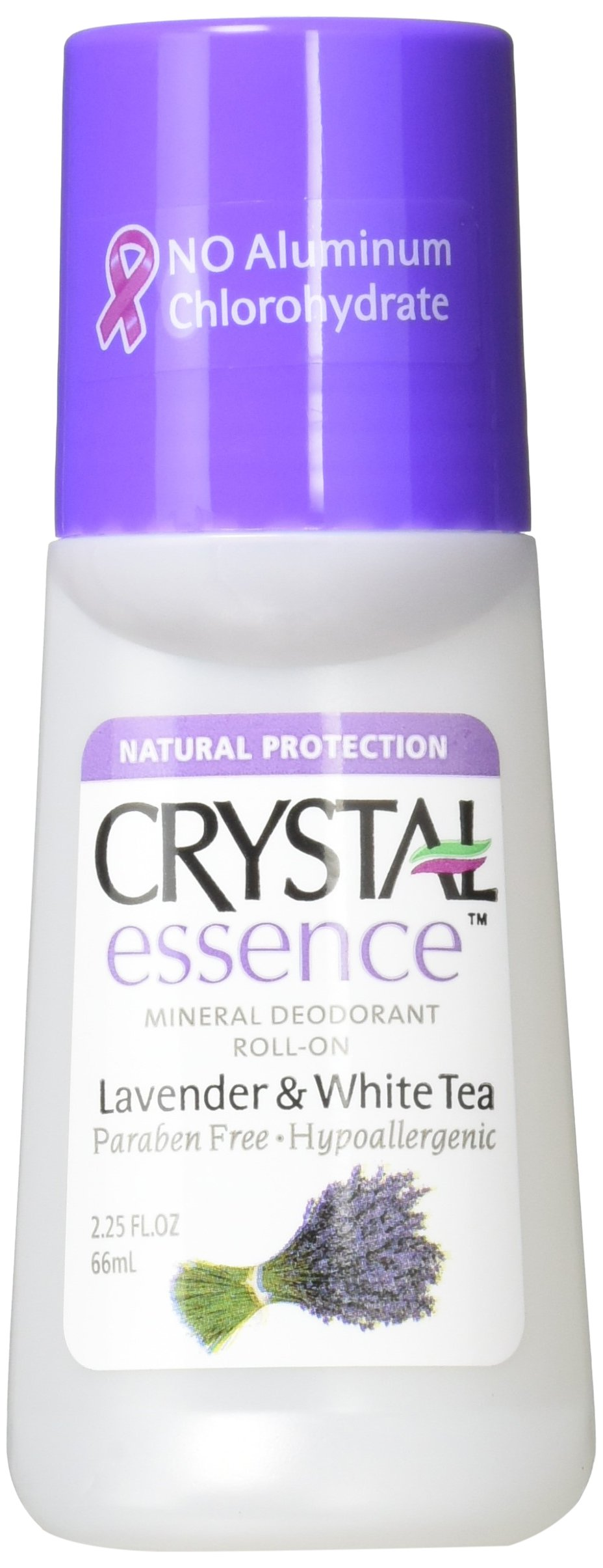 Crystal Roll On Deodorant Lavender and White Tea -- 2.25 fl oz, 2-pack
