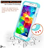Galaxy S5 Case w/[Screen Protector Premium