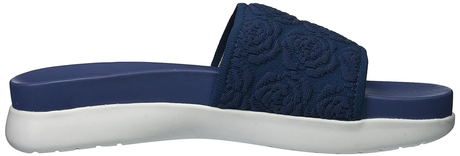 Taryn Rose Women's M Iris Knit Slide Sandal B075MPK523 8.5 M Women's M US|Denim dcbbbc