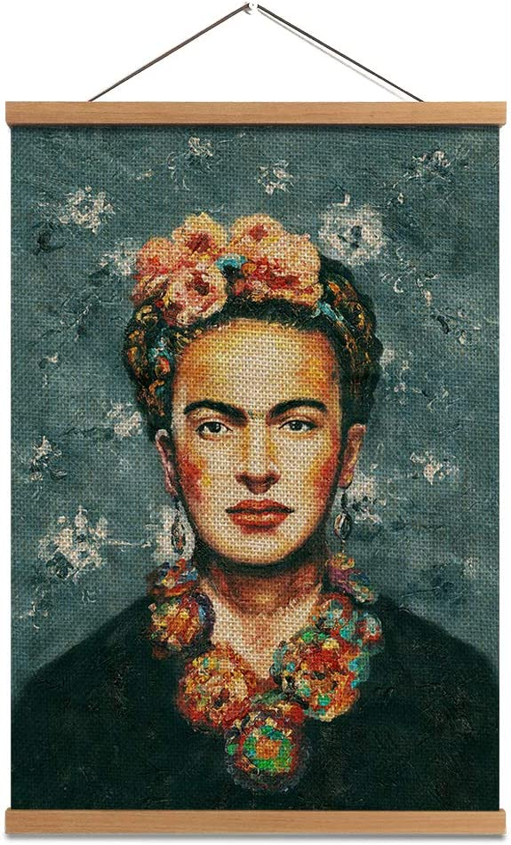 Canvas FRIDA KAHLO IMAGE PICTURE Art Print Poster