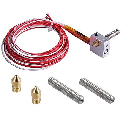 per stampante 3D E3D V6 Hotend Prusa i3 Reprap nuova versione Cartuccia termistore NTC 100k