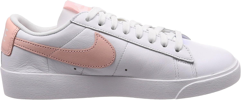 Nike W Blazer Low Le, Scarpe da Fitness Donna Multicolore White Storm Pink White 114 8C7lwl