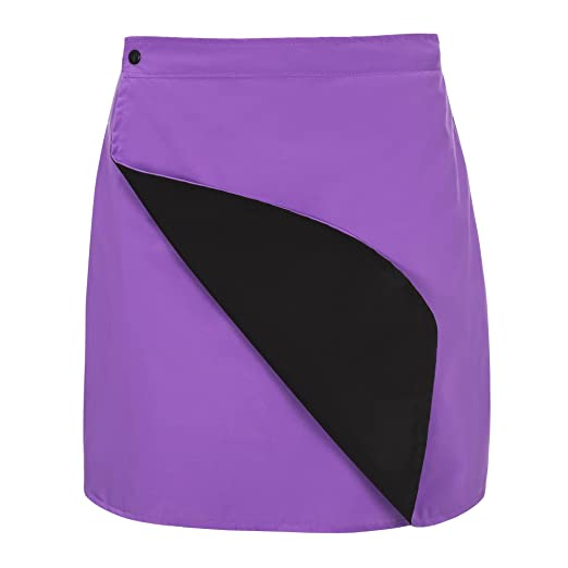 d4fb103ef8c Amazon.com  Rain Girl Golf Women s Reversible Rain Skirt Purple and ...