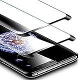ESR Panzerglas für Samsung Galaxy S9, 9H, 3-Mal verbesserte gehärtetes Schutzfolie Displayschutzfolie für Galaxy S9 2018 (5,8 Zoll),Schwarz (2 Stück)