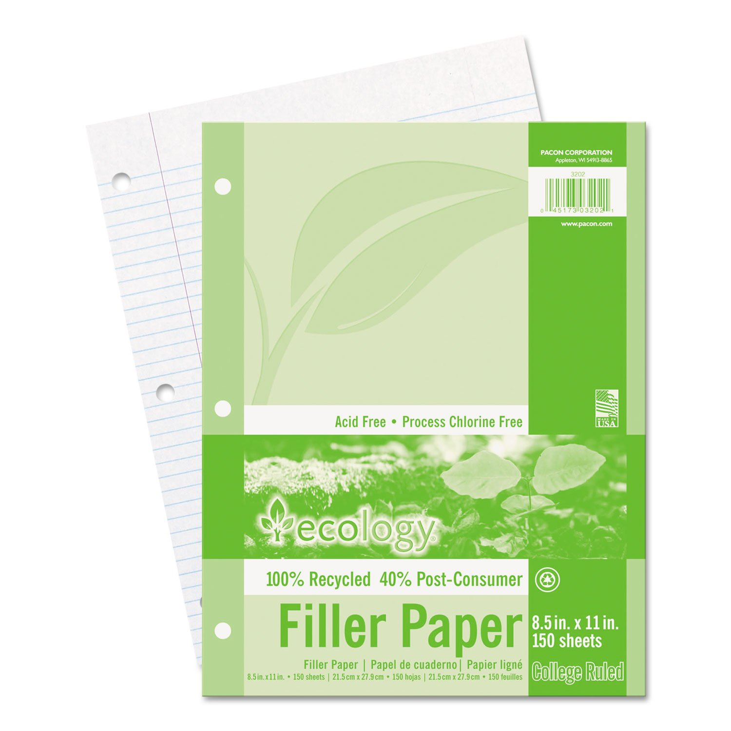 PAC3202 - Ecology Filler Paper