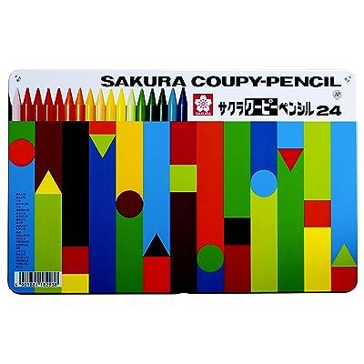 サクラクレパス クーピーペンシル 24色