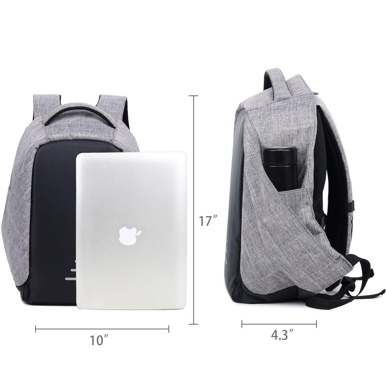 cc8b75d823 Antifurto Zaino per laptop Università Zaino da 15.6 pollici Zaino Porta  Carica USB Zaino per PC ingrandisci