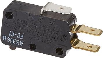 Whirlpool 10227338 Microwave Switch