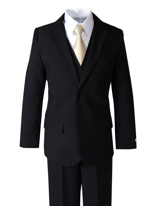 Spring Notion Big Boys' Modern Fit Dress Suit Set ERF030-SNS-030