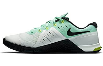 separation shoes 51187 d78df Nike Women s Metcon 2 Fitness Shoes, (Barely Green Glow Volt Seaweed)