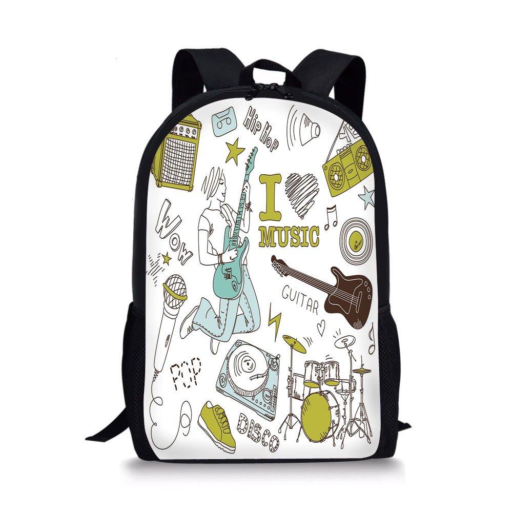 e9ca8f76c7c3 Amazon.com  iPrint School Bags Popstar Party