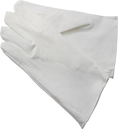 Gants Noirs et Blancs - Guantes - para niña blanco Small: Amazon ...