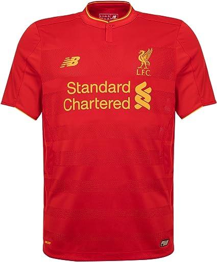 New Balance LFC Home Short Sleeve Camiseta de fútbol Hombre