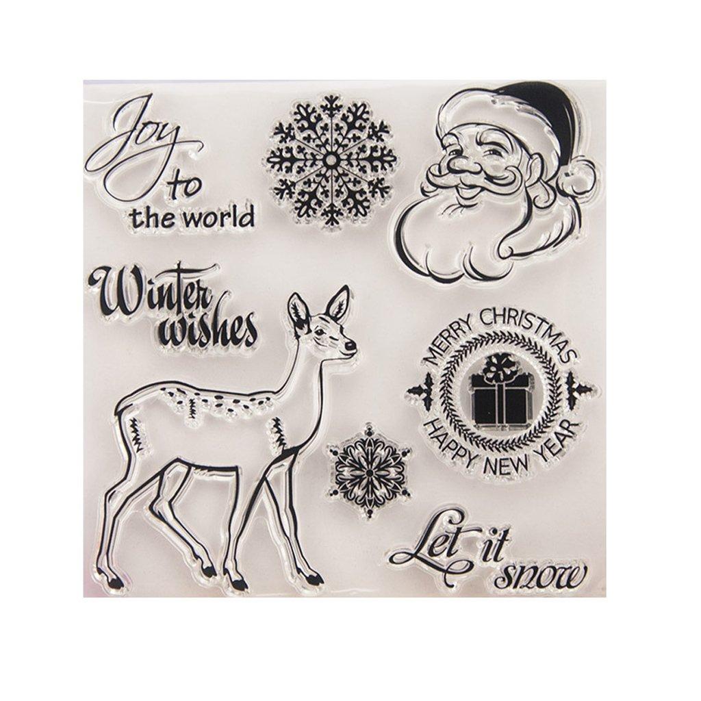 JAGENIE DIY silicone trasparente timbro scrapbook goffrato carta goffrata decorazione album Decor, T1268