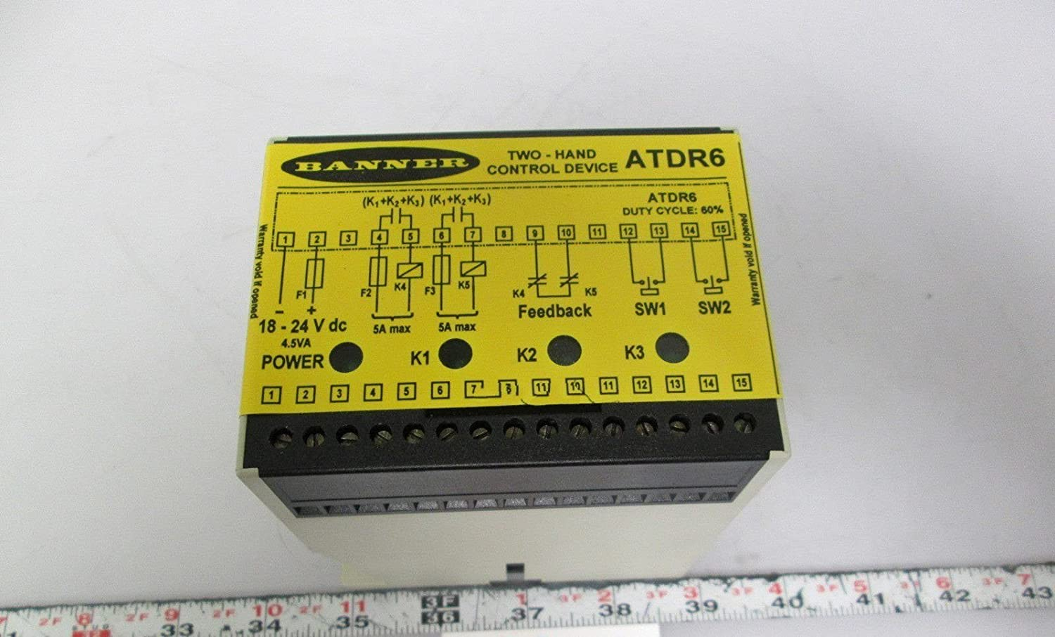 Amazon Banner ATDR6 Two Hand Control Device 18 24VDC 45VA 60