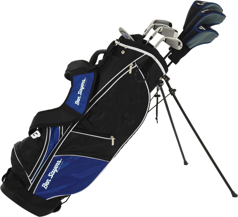 Ben Sayers M8 - Juego de Palos de Golf para Hombre, Color Azul