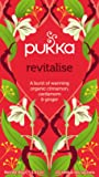 Pukka Revitlalise, Organic Herbal Tea with Cinnamon, Cardamom & Ginge (4 Pack, 80 Tea bags)