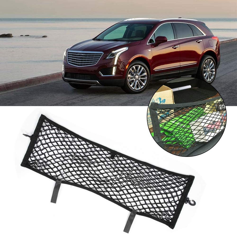 Akozon Cargo Net Car Trunk Elastic String Cargo Bagages Net Mesh Net pour Cadillac XT5