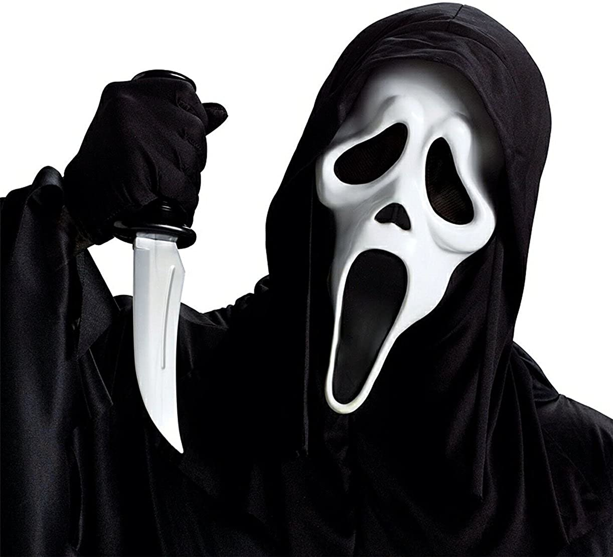 Amazon.com: GHOST FACE MASK W/KNIFE: Toys & Games