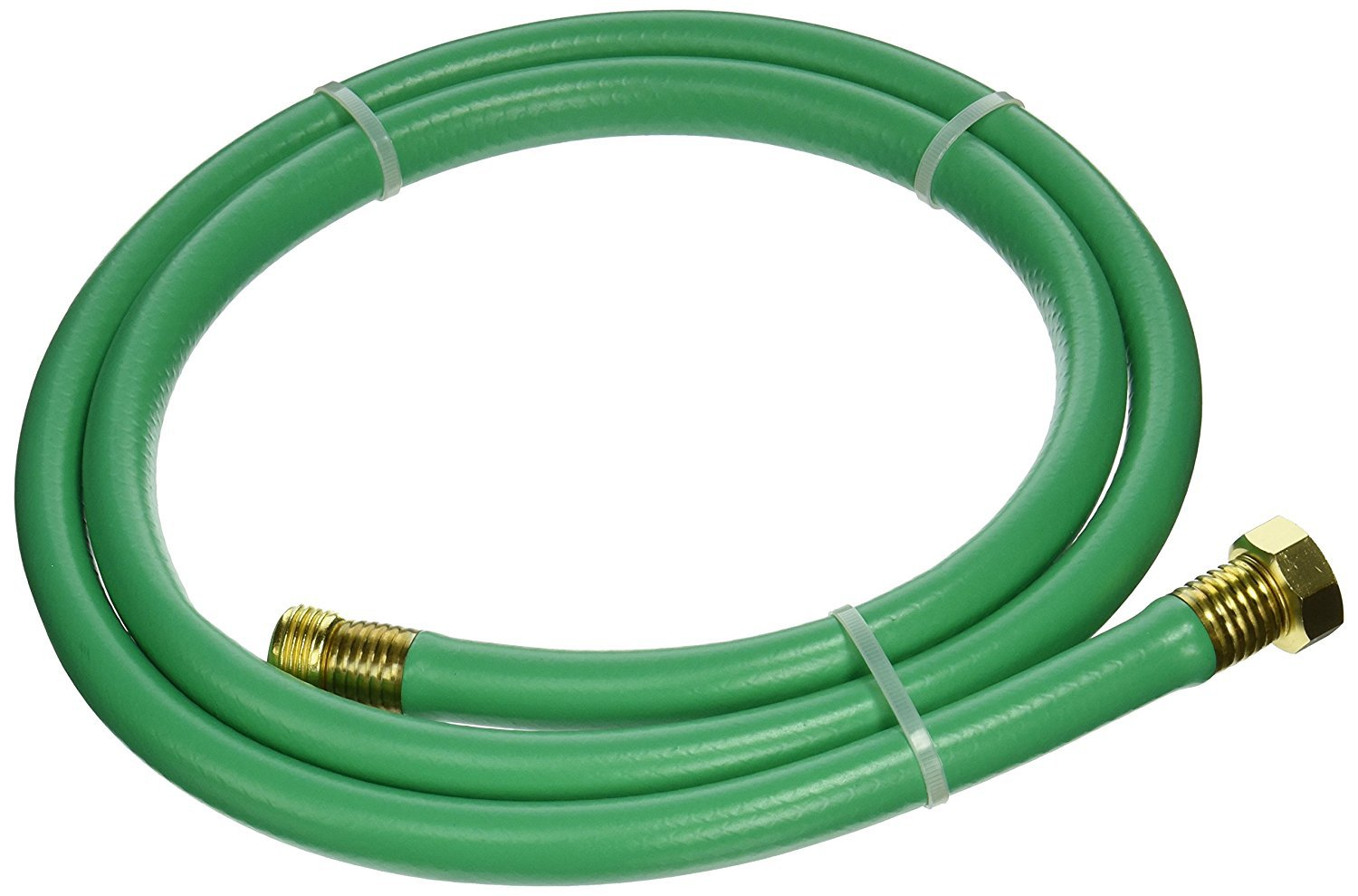 "Swan Products LOLH5806FM Hose Reel Leader Hose with Male and Female Connections 6' x 5/8"", Green"
