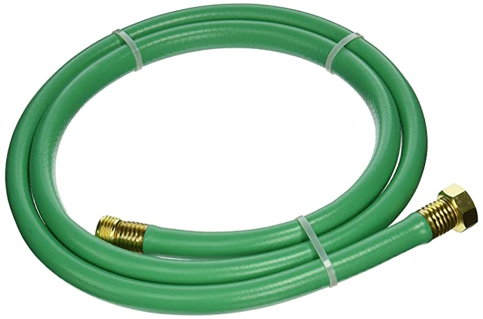 """Swan Products LOLH5806FM Hose Reel Leader Hose with Male and Female Connections 6' x 5/8"""", Green"""