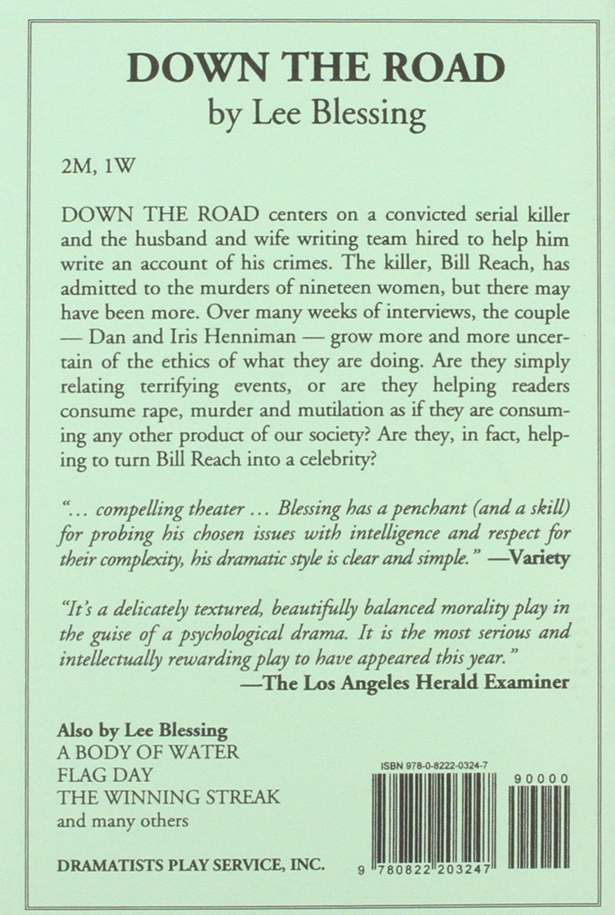 Down the road lee blessing lee blessing 9780822203247 amazon down the road lee blessing lee blessing 9780822203247 amazon books fandeluxe Choice Image