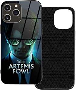 SEDSED Arte-Mis Fow-L 2020 Compatible with iPhone 12/Mini/iPhone 12 Pro/max Case 6.1 inch,9H Glass Back Cover with TPU Frame Scratch-Resistant Soft Bumper Shock Absorption Protective
