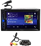 """Pioneer AVH-200EX 6.2"""" Car DVD/CD Bluetooth Receiver iPhone/Android/USB+Camera"""