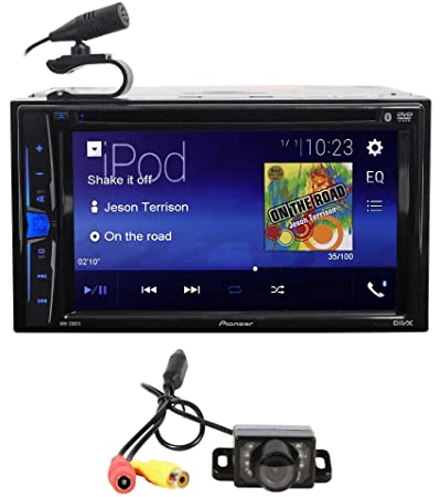 Pioneer AVH-200EX 6.2 Car DVD CD Bluetooth Receiver iPhone Android USB Camera