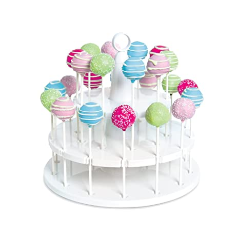 Other Baking Accessories and Cake Decorating Baking Accessories and Cake Decorating Acrylic Cake Pop Stand Holder Display Cupcake Lollipop Weddings Birthday Parties