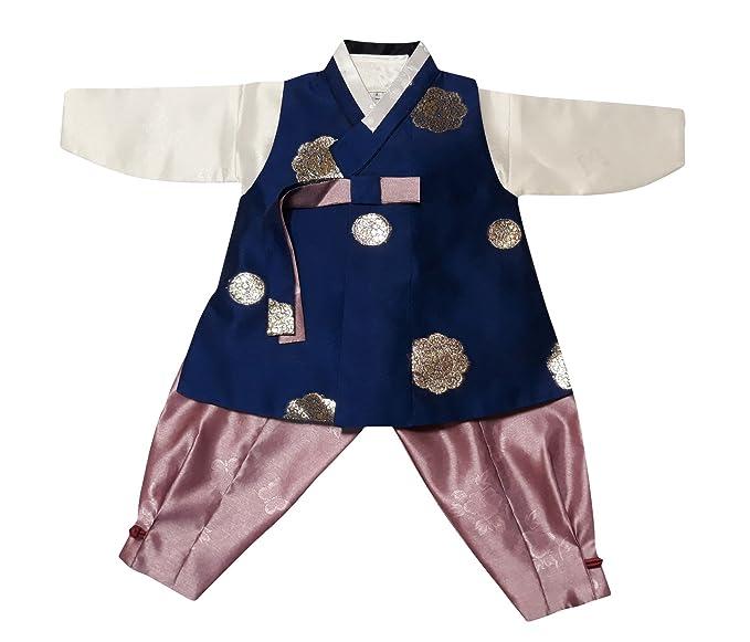 Amazon.com: Hanbok Corea tradicional trajes de niños y bebés ...