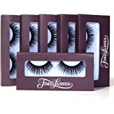 Luna by Timid Lashes   Six-Pack Premium Quality Faux Mink Cruelty-Free False Eyelashes