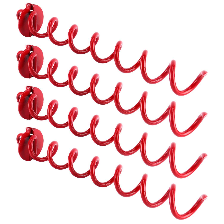 YaeMarine 4 Pack of Outdoor Folding Ring Spiral Ground Anchor 8Inch/10Inch/16Inch (16) by YaeMarine