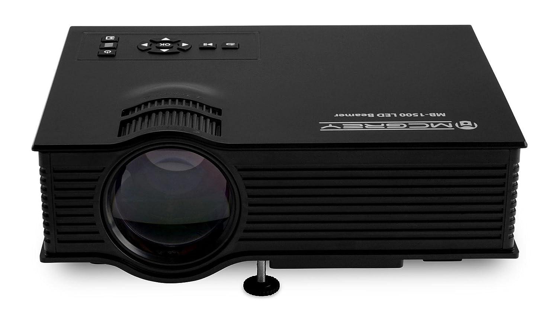 Proyector de vídeo McGrey MB-1500 LED de 800 lúmenes: Amazon.es ...