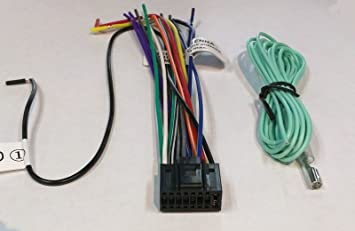71cntKo4%2BRL._SX355_ amazon com wire harness for jvc kdr530 kdr540 kdr640 kdr650 kds19 jvc kd-r530 wiring harness at panicattacktreatment.co