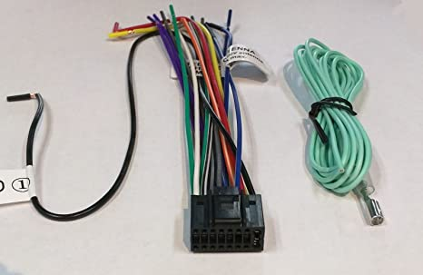 71cntKo4%2BRL._SX466_ amazon com wire harness for jvc kdhdr44 kdhdr52 kdr320 kdr328 jvc kd r320 wiring diagram at soozxer.org